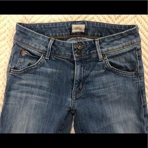 Hudson bootleg light wash jeans